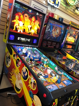 Family Guy Pinball Machine