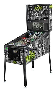 Munsters Premium Pinball Machine by Stern