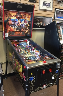 Blackrose Pinball Machine