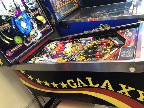 Galaxy Pinball Machine