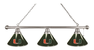 Miami (FL) 3 Shade Billiard Light