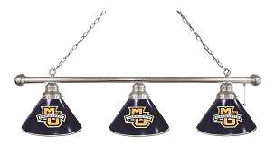 Marquette 3 Shade Billiard Light