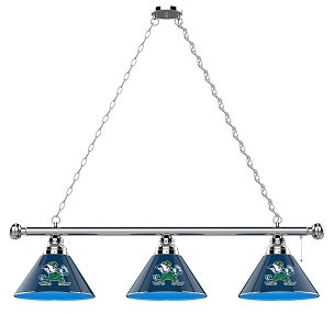 Notre Dame (Leprechaun) 3 Shade Billiard Light