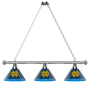 Notre Dame 3 Shade Billiard Light