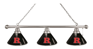 Rutgers 3 Shade Billiard Light