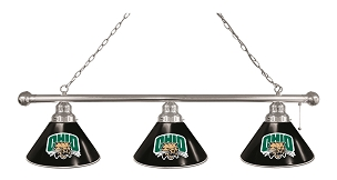 Ohio University 3 Shade Billiard Light