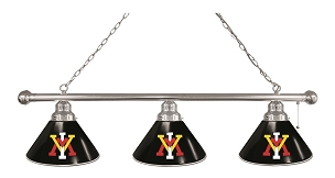 Virginia Military Institute 3 Shade Billiard Light