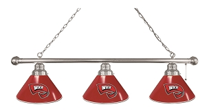 Western Kentucky 3 Shade Billiard Light