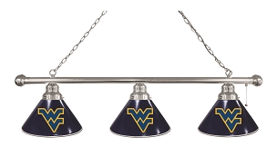 West Virginia 3 Shade Billiard Light