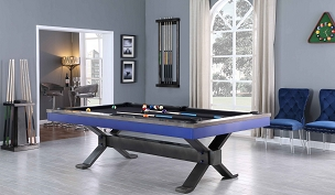 8' Axton Pool Table