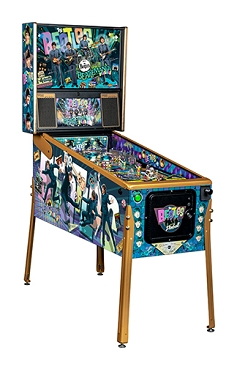 Beatles Gold Pinball Machine by Stern