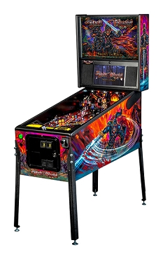 Black Knight Premium Pinball Machine by Stern