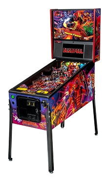 Deadpool Pro Pinball Machine by Stern