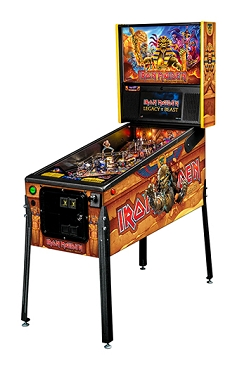 Iron Maiden Premium Pinball Machine by Stern