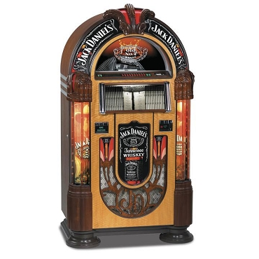 ROCK-OLA BUBBLER JACK DANIELS CD JUKEBOX