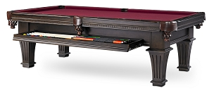 8' Talbot w/Drawer Pool Table