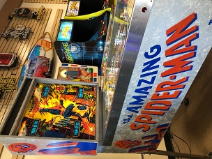 Spiderman Pinball Machine 1980 Wide Body