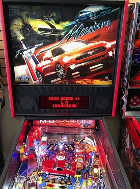 Mustang Pinball by Stern