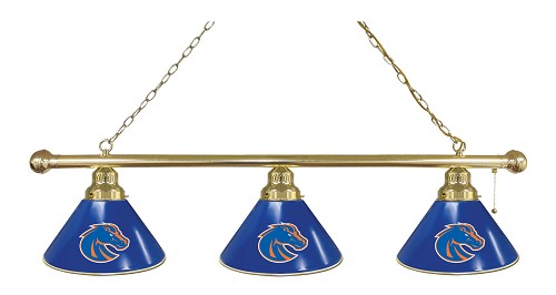 Boise State 3 Shade Billiard Light
