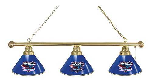 DePaul 3 Shade Billiard Light