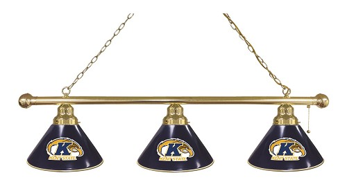 Kent State 3 Shade Billiard Light