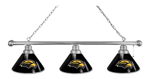 Southern Miss 3 Shade Billiard Light