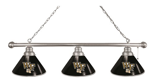Wake Forest 3 Shade Billiard Light